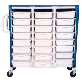 MJM International Hydration Cart with 48 Quart Ice Chest and Extra Top