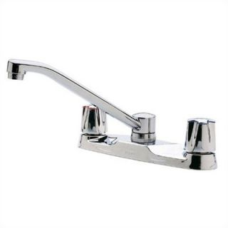 Price Pfister Marielle One Handle Widespread Kitchen Faucet with Spray