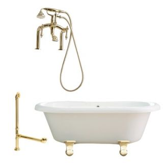 Delta Victorian Double Handle Deck Mount Roman Tub Faucet   T2755