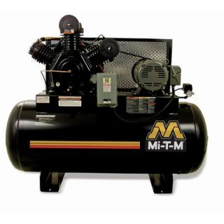 Mi T M 15 HP Electric Two Stage Stationary Air Compressor   AM2 HE15