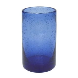 Artland Iris Highball Glass in Cobalt Blue (Set of 4)