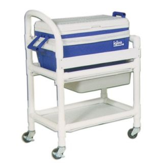 International Hydration Cart with 48 Quart Ice Chest and Side Panels