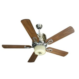 52 Pierce 5 Blade Ceiling Fan with Wall Control and Remote
