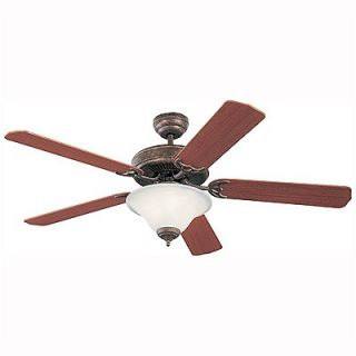 Monte Carlo Fan Company 52 Homeowners Deluxe 5 Blade Ceiling Fan