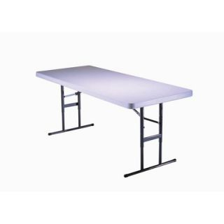 Lifetime 6 Commercial Grade Adjustable Table in Almond