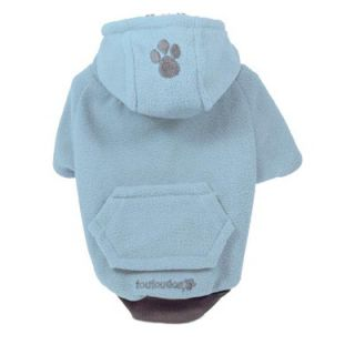 Fou Dog Fou Lar Fleece Dog Hoody in Blue   CSN0063/64/65/66/67/68