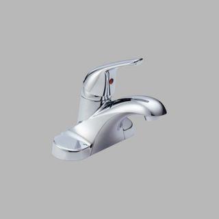 Delta Foundations Centerset Bathroom Faucet with Single Handle
