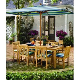 Oxford Garden Hampton Rectangular Dining Table