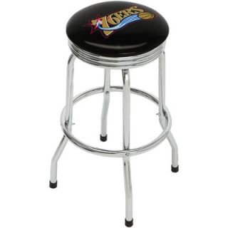 On The Edge Marketing NBA 29.5 Chrome Swivel Barstool