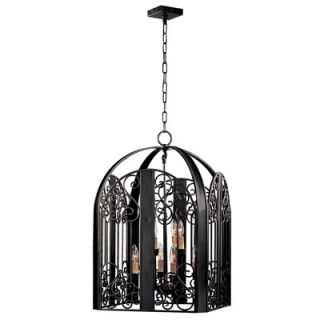 World Imports Lighting Sevilla 8 Light Foyer Pendant