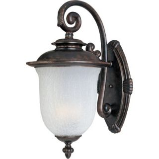 Maxim Lighting Cambria DC Outdoor Wall Lantern in Chocolate