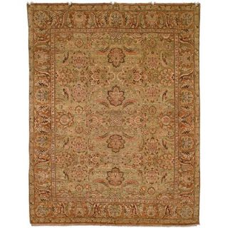 Safavieh Old World Light Green/Gold Agra Rug