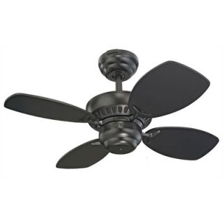 Monte Carlo Fan Company 28 Colony II 4 Blade Ceiling Fan