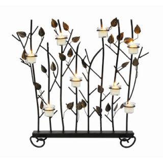 Minuteman Summer Wrought Iron Fireplace Screen