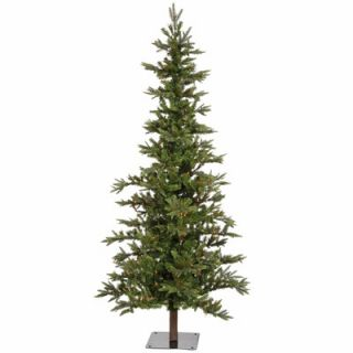 Vickerman Shawnee Fir 7 Alpine Artificial Christmas Tree with