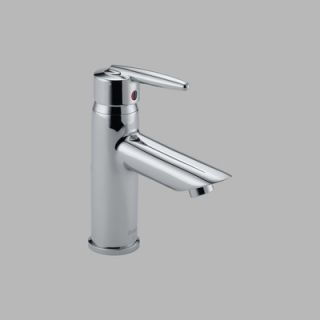 Delta Grail Single Hole Bathroom Faucet with Single Hole   585LF LPU