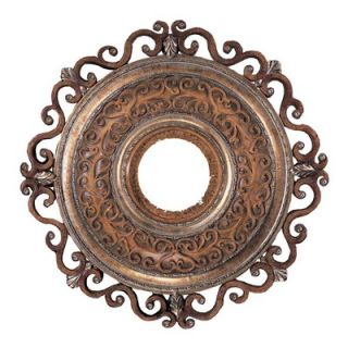 Minka Aire Napoli 22 Ceiling Medallion in Tuscan Patina   CM7022