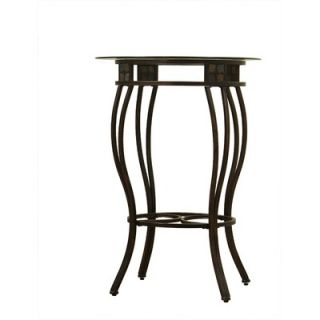 Boraam 42 Beau Pub Table in Black and Gold
