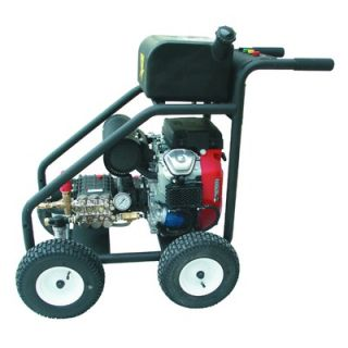 Cam Spray 5000 PSI Cold Water Gas Pressure Washer with Honda Electric