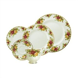Royal Albert Old Country Roses 5 Piece Place Setting   15210002