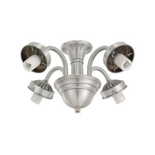 Monte Carlo Fan Company Traditional Four Light Branched Ceiling Fan