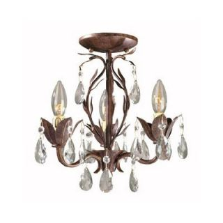 World Imports Lighting Bijoux 3 Light Chandelier   81023 62