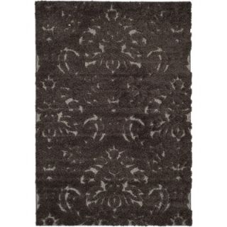 Safavieh Florida Shag Dark Smoke Rug   SG460 2879
