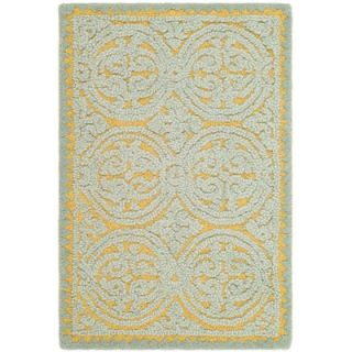 Safavieh Cambridge Blue/Gold Rug