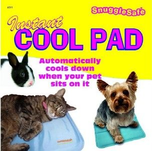 Instant Cooling/ COOL Pad/Mat for Small Pets   Dogs Cats Rabbits