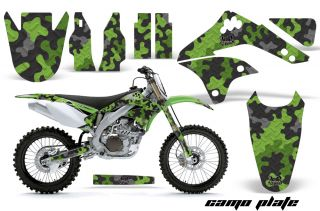 AMR Racing Motocross MX Sticker Wrap Graphic Decals Kawasaki KXF 450