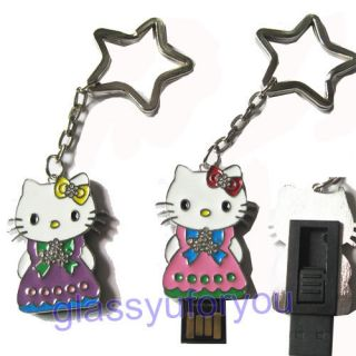 4GB Skirt Hello Kitty USB 2 0 Flash Memory Drive
