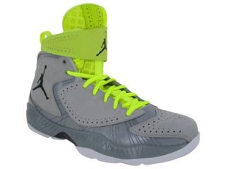 Nike Air Jordan 2012 Mens Basketball Shoes Wolf Grey/Black