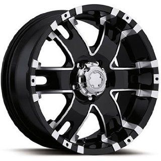 Ultra Baron 17x9 Black Wheel / Rim 8x170 with a 12mm Offset and a 125