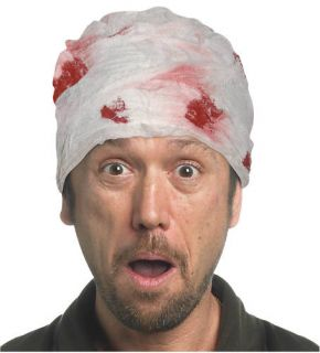Bloody Head Bandage Halloween Costume Accessory Funny