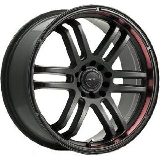 Drifz FX 20x8.5 Black Wheel / Rim 5x100 & 5x4.5 with a 38mm Offset and