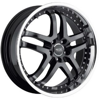 Prado Dante 18 Machined Black Wheel / Rim 5x115 & with a 38mm Offset