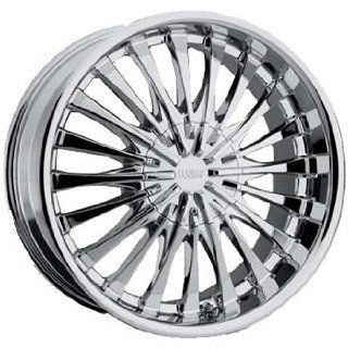 Cruiser Alloy Superstar 20x9 Chrome Wheel / Rim 6x5.5 with a 15mm