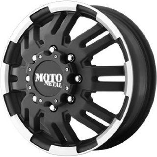 Moto Metal MO963 16x6 Black Wheel / Rim 8x6.5 with a 111mm Offset and