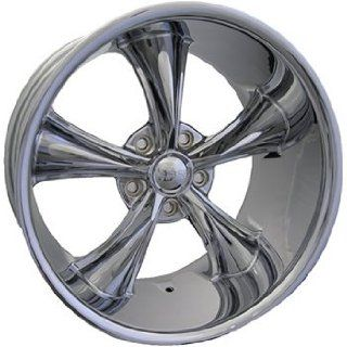 Boss 338 18x9.5 Chrome Wheel / Rim 5x4.75 with a  4mm Offset and a 82