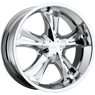 Milanni Bitchin 17 Chrome Wheel / Rim 6x135 & 6x5.5 with a 30mm Offset