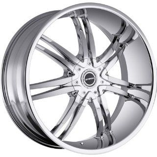Strada Diablo 20 Chrome Wheel / Rim 6x135 & 6x5.5 with a 33mm Offset
