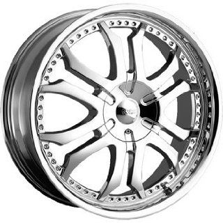 Cruiser Alloy Retractor 22x9.5 Chrome Wheel / Rim 5x5.5 with a 38mm