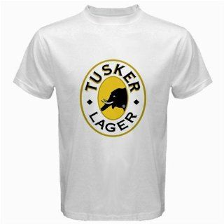 Tusker Beer Logo New White T shirt Size XL Everything