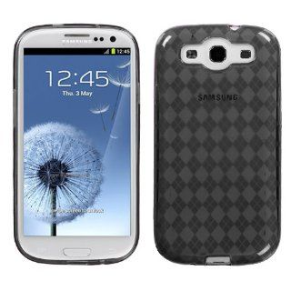 ASMYNA Smoke Argyle Pane Candy Skin Cover for SAMSUNG