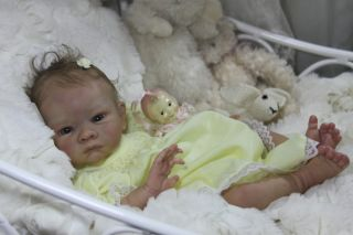 Amazing Life Like Reborn Collectors Doll Preemie Baby Girl