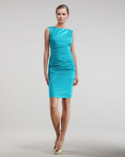 Nicole Miller Ruched Sheath Dress