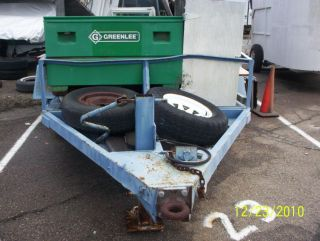 Used Heavy Equipment Trailer