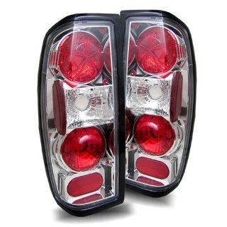 Nissan Frontier 1998 2004 Altezza Tail Lights Chrome (Fits All