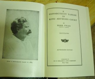 Mark Twain Authorized Edition Books Lot of 4 Antiquarian 1917 1921