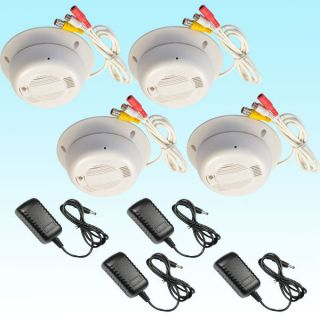 Pcs Sony CCD Color Hidden Security Camera with Smoke Alarm Detector